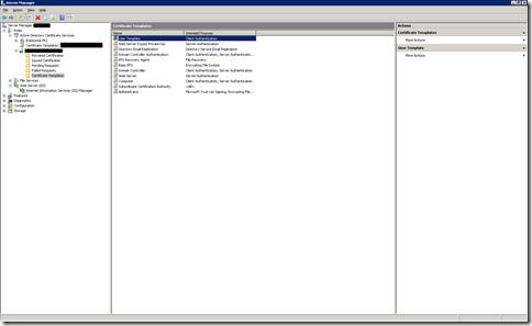 Certificate_server_templates