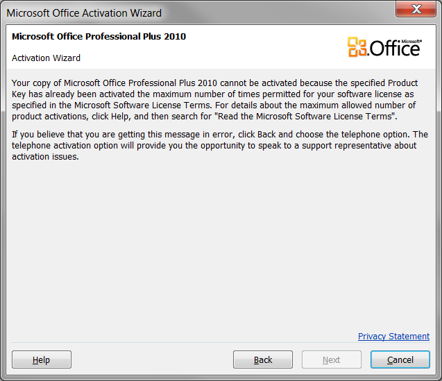 Office professional plus 2013 activation and purchase - Activation office 2013 sans telephone ...